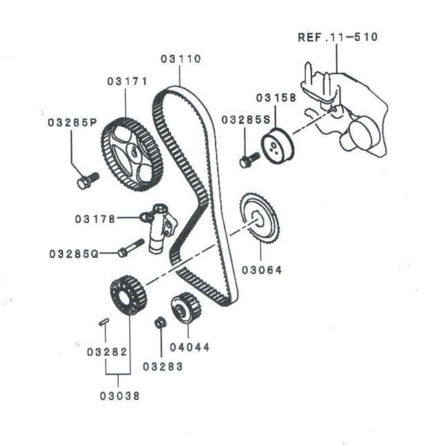 двигателе 4G69 Mitsubishi
